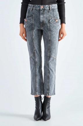 ETOILE ISABEL MARANT Укороченные джинсы