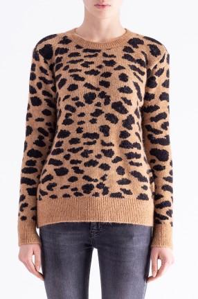 RAIINE Леопардовый свитер
